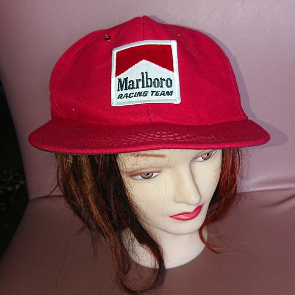 6bb7f78d EAR Enterprise Accessories   Vintage Hat Snap Back Red Usa Marlboro ...